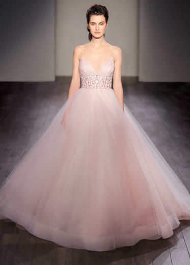 Bridal gowns wedding dresses by lazaro style lz3600 for Lazaro wedding dress price range
