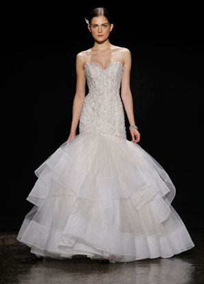 Lazaro Bridal Dresses Style 3410 by JLM Couture, Inc.