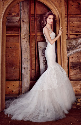 Lazaro Bridal Dresses Style 3556 by JLM Couture, Inc.