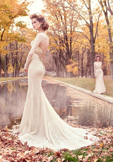 Lazaro Bridal Dresses Style 3512 by JLM Couture, Inc.
