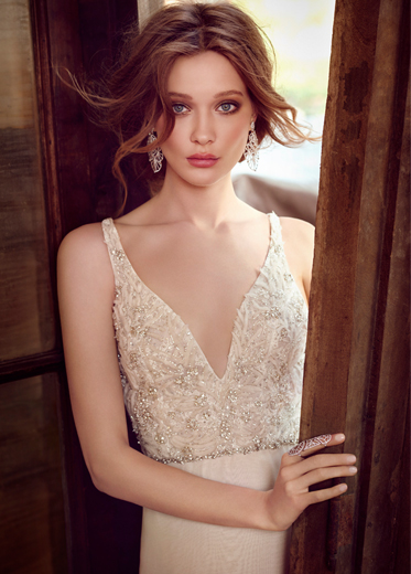 Lazaro Bridal Dresses Style 3554 by JLM Couture, Inc.