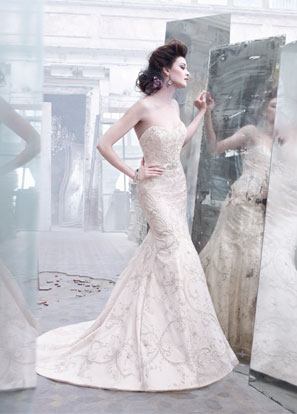 Lazaro Bridal Dresses Style 3262 by JLM Couture, Inc.