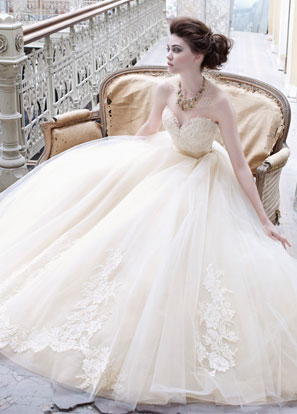Lazaro Bridal Dresses Style 3251 by JLM Couture, Inc.