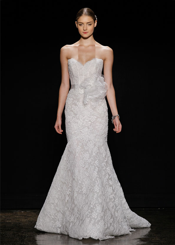 Lazaro Bridal Gowns, Wedding Dresses Style LZ3412 by JLM Couture, Inc.