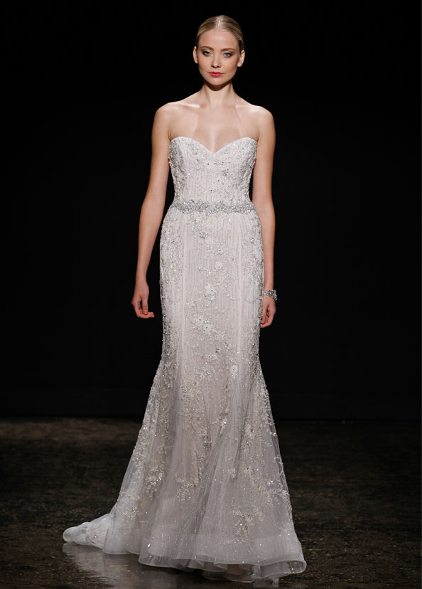 Lazaro Bridal Gowns, Wedding Dresses Style LZ3411 by JLM Couture, Inc.