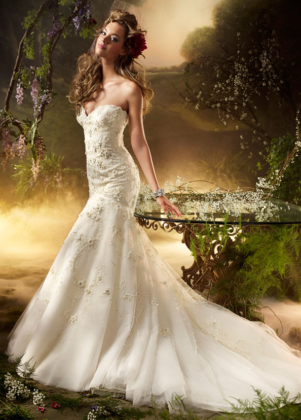 Lazaro Bridal Gowns, Wedding Dresses Style LZ3002 by JLM Couture, Inc.