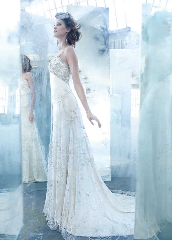 Lazaro Bridal Gowns, Wedding Dresses Style LZ3307 by JLM Couture, Inc.