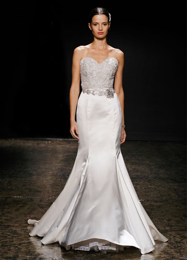 Lazaro Bridal Gowns, Wedding Dresses Style LZ3404 by JLM Couture, Inc.