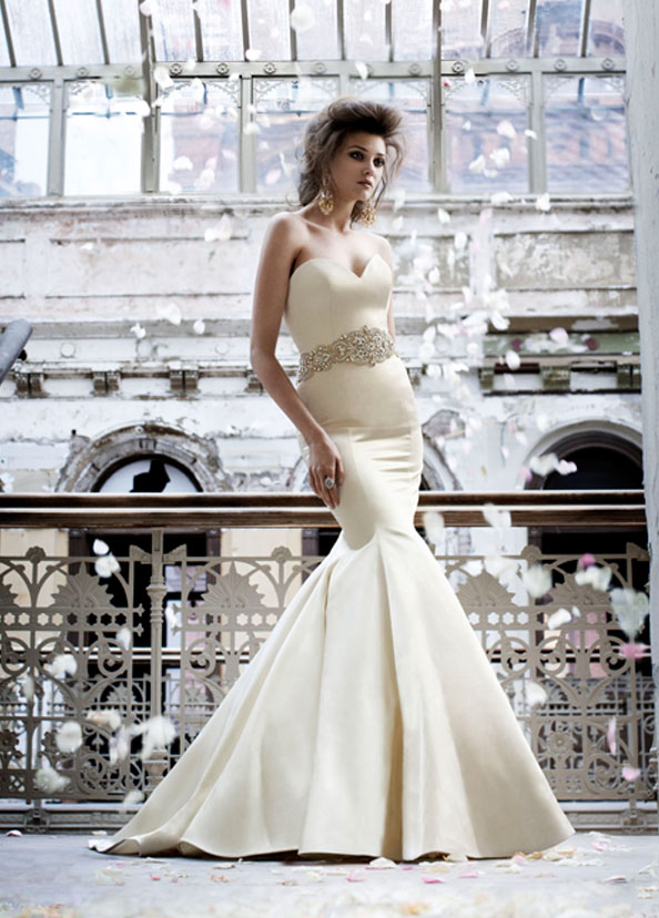 Lazaro Bridal Gowns, Wedding Dresses Style LZ3166 by JLM Couture, Inc.