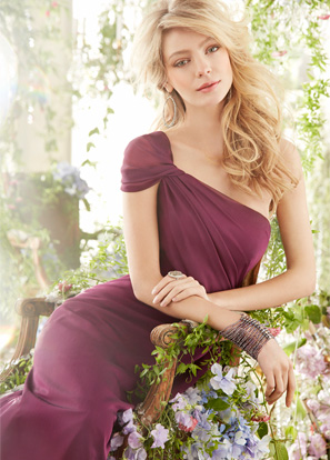 Hayley Paige Occasions Bridesmaids and Special Occasion Dresses Style 5414 by JLM Couture, Inc.