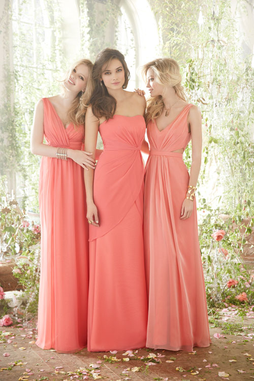 Hayley Paige Occasions Bridesmaids and Special Occasion Dresses Style 5411 by JLM Couture, Inc.