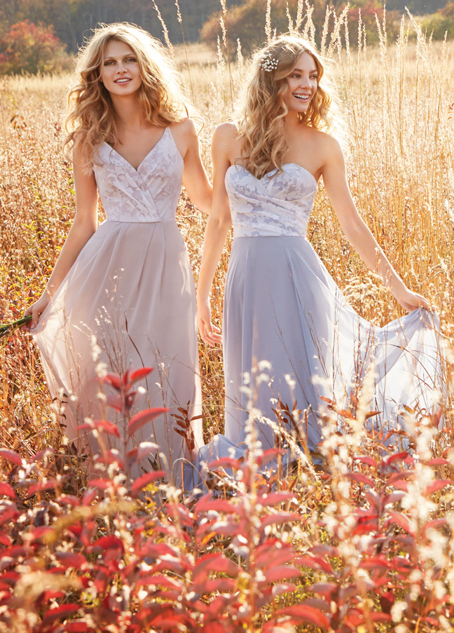 Hayley Paige Occasions Bridesmaids and Special Occasion Dresses Style 5605 by JLM Couture, Inc.