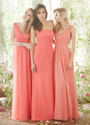 Hayley Paige Occasions Bridesmaids and Special Occasion Dresses Style 5402 by JLM Couture, Inc.